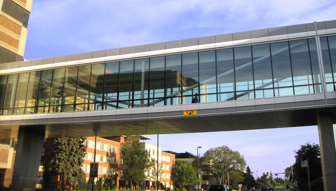South pedway, University of Alberta, Alberta